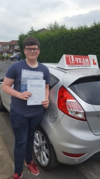 Congratulations to Max passing his driving test with <br /> L-Team driving school for the first time!! #passed#driving#learner🏆 #manchester#drivinglessons #help #learning #cars Call us know to get booked in on 0333 240 6430<br /> <br /> <br /> PASSED MAY 2018🏆