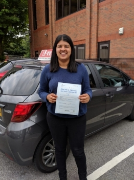 Congratulations to Varuna passing her driving test with <br /> L-Team driving school for the first time!! #passed#driving#learner🏆 #manchester#drivinglessons #help #learning #cars Call us know to get booked in on 0333 240 6430<br /> <br /> <br /> PASSED JUNE  2018🏆