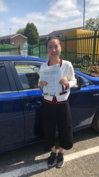 Congratulations to Wen Wang  passing her driving test with L-Team driving school for the first time!! #passed#driving#learner🏆 #manchester#drivinglessons #help #learning #cars Call us now to get booked in on 0333 240 6430<br /> <br /> <br /> PASSED JUNE 2018🏆