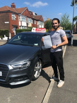 Congratulations to Junaid passing his driving test with L-Team driving school for the first time!! #passed#driving#learner🏆 #manchester#drivinglessons #help #learning #cars Call us now to get booked in on 0333 240 6430<br /> <br /> <br /> PASSED JUNE 2018