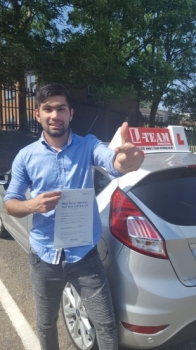 Congratulations to Mateen passing his driving test with L-Team driving school for the first time!! #passed#driving#learner🏆 #manchester#drivinglessons #help #learning #cars Call us now to get booked in on 0333 240 6430<br /> <br /> PASSED JUNE 2018 🏆