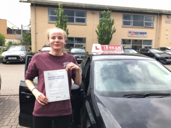 Congratulations to Leva  passing her driving test with L-Team driving school for the first time!! #passed#driving#learner🏆 #manchester#drivinglessons #help #learning #cars Call us now to get booked in on 0333 240 6430<br /> <br /> PASSED JUNE 2018 🏆