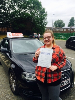 Congratulations to Sarha passing her driving test with L-Team driving school for the first time!! #passed#driving#learner🏆 #manchester#drivinglessons #help #learning #cars Call us now to get booked in on 0333 240 6430<br /> <br /> PASSED JUNE 2018 🏆