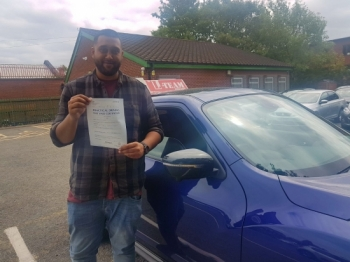 Congratulations to Faisal  passing his driving test with L-Team driving school for the first time!! #passed#driving#learner🏆 #manchester#drivinglessons #help #learning #cars Call us now to get booked in on 0333 240 6430<br /> <br /> PASSED JUNE 2018 🏆