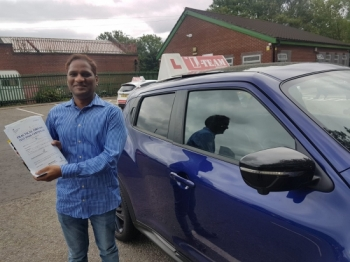 Congratulations to Sathya passing his driving test with L-Team driving school for the first time!! #passed#driving#learner🏆 #manchester#drivinglessons #help #learning #cars Call us now to get booked in on 0333 240 6430<br /> <br /> PASSED JUNE 2018 🏆