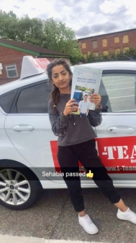 Congratulations to Sehabia passing her driving test with L-Team driving school for the first time!! #passed#driving#learner🏆 #manchester#drivinglessons #help #learning #cars Call us now to get booked in on 0333 240 6430<br /> <br /> PASSED JUNE 2018 🏆