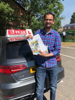 Congratulations to Farhan passing his driving test with L-Team driving school for the first time!! #passed#driving#learner🏆 #manchester#drivinglessons #help #learning #cars Call us now to get booked in on 0333 240 6430<br /> <br /> PASSED JUNE 2018 🏆