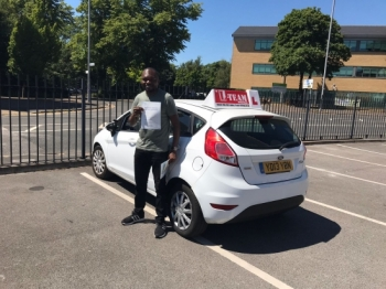 Congratulations to Kenneth passing his driving test with L-Team driving school for the first time!! #passed#driving#learner🏆 #manchester#drivinglessons #help #learning #cars Call us now to get booked in on 0333 240 6430<br /> <br /> PASSED JULY 2018 🏆