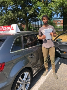 Congratulations to Mustapha passing his driving test with L-Team driving school for the first time!! #passed#driving#learner🏆 #manchester#drivinglessons #help #learning #cars Call us now to get booked in on 0333 240 6430<br /> <br /> PASSED JUNE 2018 🏆