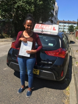 Congratulations to Alganesh passing her driving test with L-Team driving school for the first time!! #passed#driving#learner🏆 #manchester#drivinglessons #help #learning #cars Call us now to get booked in on 0333 240 6430<br /> <br /> PASSED JULY 2018 🏆