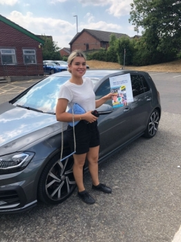 Congratulations to Najla passing her driving test with L-Team driving school for the first time!! #passed#driving#learner🏆 #manchester#drivinglessons #help #learning #cars Call us now to get booked in on 0333 240 6430<br /> <br /> PASSED JULY 2018 🏆