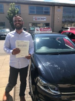 Congratulations to Thaer passing his driving test with L-Team driving school for the first time!! #passed#driving#learner🏆 #manchester#drivinglessons #help #learning #cars Call us now to get booked in on 0333 240 6430<br /> <br /> PASSED JULY 2018 🏆