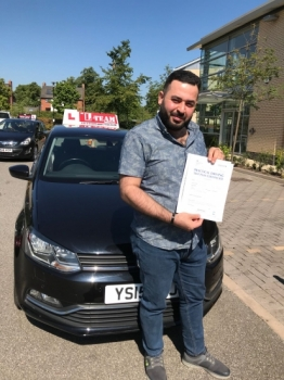 Congratulations to Mohammed passing his driving test with L-Team driving school for the first time!! #passed#driving#learner🏆 #manchester#drivinglessons #help #learning #cars Call us now to get booked in on 0333 240 6430<br /> <br /> PASSED JULY 2018 🏆