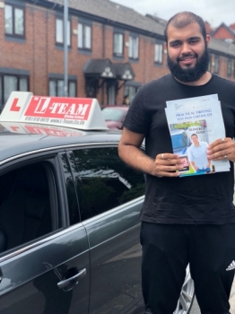 Congratulations to Bilal passing his driving test with L-Team driving school for the first time!! #passed#driving#learner🏆 #manchester#drivinglessons #help #learning #cars Call us now to get booked in on 0333 240 6430<br /> <br /> PASSED JULY 2018 🏆