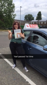Congratulations to Yael passing her driving test with L-Team driving school for the first time!! #passed#driving#learner🏆 #manchester#drivinglessons #help #learning #cars Call us now to get booked in on 0333 240 6430<br /> <br /> PASSED JULY 2018 🏆