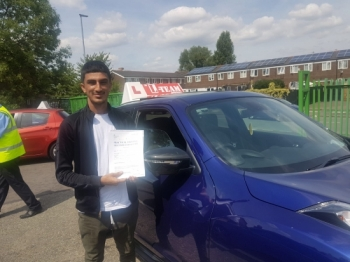 Congratulations to Hashim passing his driving test with L-Team driving school for the first time!! #passed#driving#learner🏆 #manchester#drivinglessons #help #learning #cars Call us now to get booked in on 0333 240 6430<br /> <br /> PASSED JULY 2018 🏆