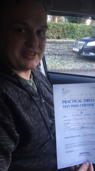 Congratulations to Declan o&acute;nell  passing his driving test with L-Team driving school for the first time!! #passed#driving#learner #manchester#drivinglessons #help #learning #cars  Call us know to get booked in on 0161 610 0079<br />