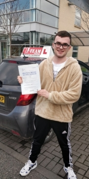Congratulations to George Lewis passing his driving test with L-Team driving school for the first time!! #passed#driving#learner #manchester#drivinglessons #help #learning #cars Call us know to get booked in on 0161 610 0079<br />