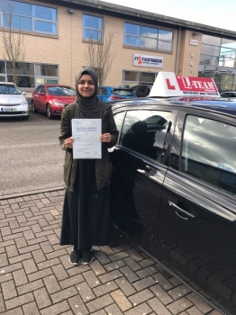 Congratulations to Haiqariza passing her driving test with L-Team driving school for the first time!! #passed#driving#learner #manchester#drivinglessons #help #learning #cars Call us know to get booked in on 0161 610 0079<br />