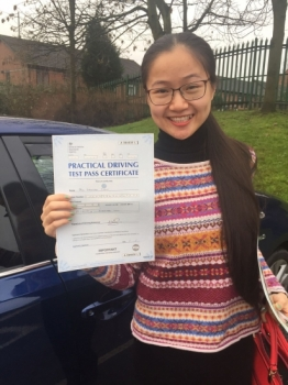 Congratulations to MS WAN passing her driving test with L-Team driving school for the first time!! #passed#driving#learner #manchester#drivinglessons #help #learning #cars  Call us know to get booked in on 0161 610 0079<br />