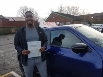 Congratulations to Nyron passing his driving test with L-Team driving school for the first time!! #passed#driving#learner #manchester#drivinglessons #help #learning #cars Call us know to get booked in on 0161 610 0079<br />
