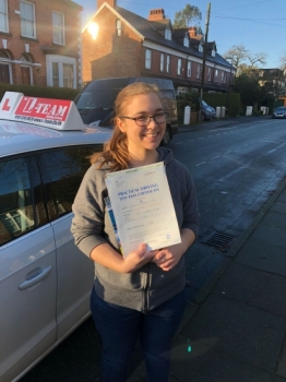 Congratulations to Charlotte passing her driving test with L-Team driving school for the first time!! #passed#driving#learner #manchester#drivinglessons #help #learning #cars  Call us know to get booked in on 0161 610 0079<br />