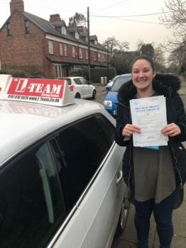 Congratulations to Natasha passing her driving test with L-Team driving school for the first time!! #passed#driving#learner #manchester#drivinglessons #help #learning #cars  Call us know to get booked in on 0161 610 0079<br />