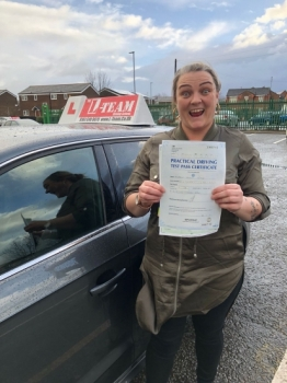 Congratulations to Steph passing her driving test with L-Team driving school for the first time!! #passed#driving#learner #manchester#drivinglessons #help #learning #cars Call us know to get booked in on 0161 610 0079<br />