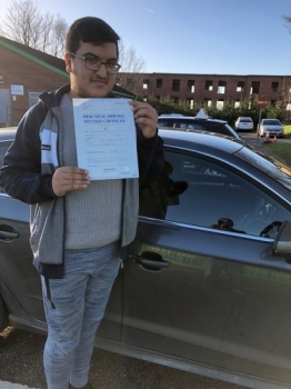 Congratulations to Ali passing his driving test with L-Team driving school for the first time!! #passed#driving#learner #manchester#drivinglessons #help #learning #cars Call us know to get booked in on 0161 610 0079<br />