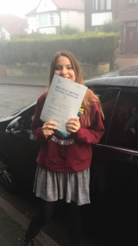 Congratulations to Olivia passing her driving test with     L-Team driving school for the first time!! #passed#driving#learner #manchester#drivinglessons #help #learning #cars  Call us know to get booked in on 0161 610 0079<br />