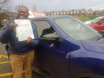 Congratulations to Kenneth passing his driving test with L-Team driving school for the first time!! #passed#driving#learner #manchester#drivinglessons #help #learning #cars Call us know to get booked in on 0161 610 0079<br />
