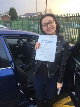 Congratulations to Ka wai ying passing her driving test with L-Team driving school for the first time!! #passed#driving#learner #manchester#drivinglessons #help #learning #cars Call us know to get booked in on 0161 610 0079<br />