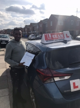 Congratulations to Hannock passing his driving test with L-Team driving school for the first time!! #passed#driving#learner #manchester#drivinglessons #help #learning #cars Call us know to get booked in on 0161 610 0079<br />