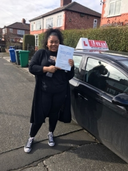 Congratulations to Rakaya passing her driving test with L-Team driving school for the first time!! #passed#driving#learner #manchester#drivinglessons #help #learning #cars Call us know to get booked in on 0161 610 0079<br />