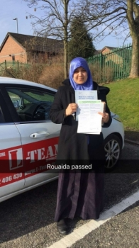 Congratulations to Rouaida passing her driving test with L-Team driving school for the first time!! #passed#driving#learner #manchester#drivinglessons #help #learning #cars Call us know to get booked in on 0161 610 0079<br />
