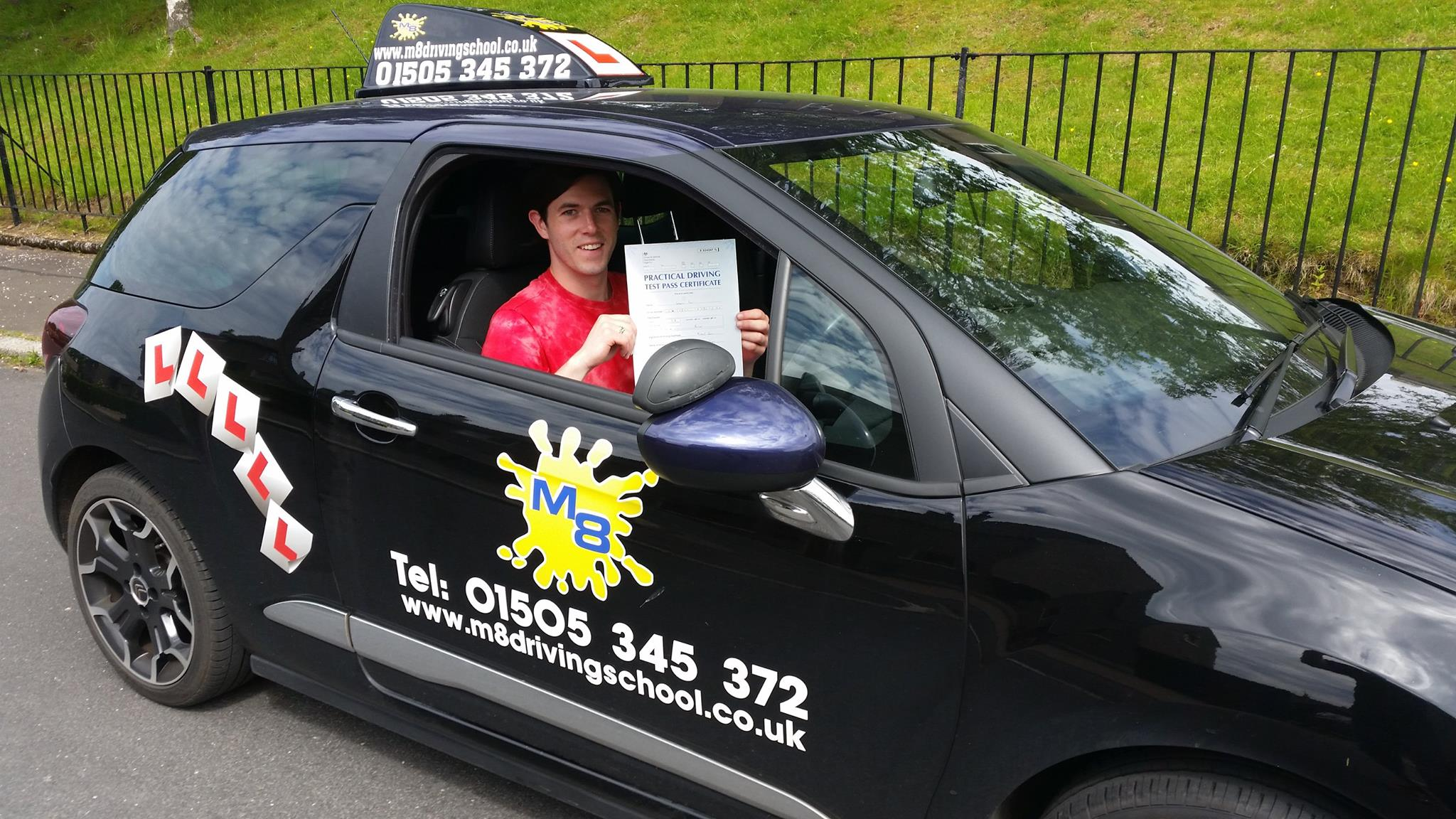 Driving lessons Paisley with an experienced, reliable and patient driving  instructor