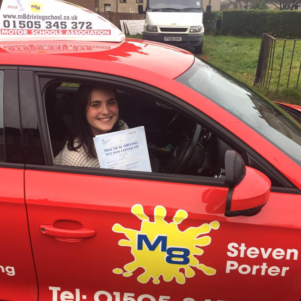 M8 Driving School have helped hundreds of learner drivers pass their driving test
