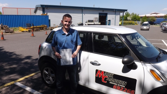 Mark was simply the best driving instructor So good at what he does and teaches only the very best Mark also wants you to pass your test as much as you want to pass it yourself Spent so long driving and got so many bad habit yet Mark managed to pass me first time in 3 monthsThank again