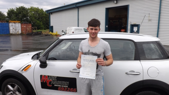 Big thank you you must be one of the best driving school in Grimsby Thank you again