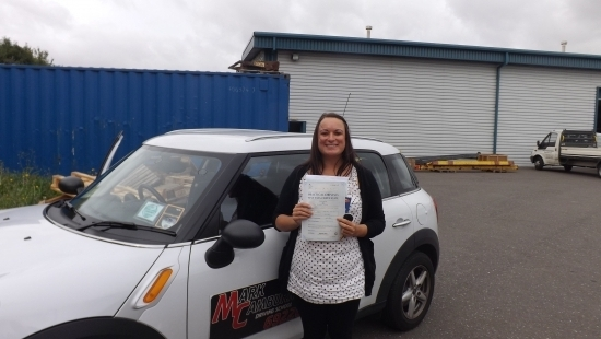 Having already learnt to drive I decided to go to Mark to ensure my driving was up to test standard This was the key to success for me passing first time Mark allowed me to learn in a comfortable manner so I never felt uneasy but also pushed me when needed I definitely recommend Mark A BRILLIANT teacher [ and car ] Thank again