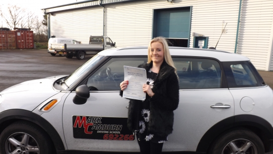 Last driving test of 2013 well done Laura on pass first time just like your mum did many years ago<br />