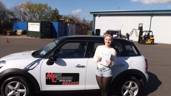 Mark you are great instructor and made me feel at ease right awayyou helped amazingly with my confidence issuesalthough i have dyslexia and struggle with instruction you explained everything so well and i would recommend you to anybody wishing to take driving lessons