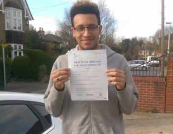 If you are looking for a committed instructor who knows their stuff & will take their time in passing on extensive driving knowledge to you, then look no further than Michael. Before Michael I had taken 2 previous driving tests with 2 different instructors, failing both times. I then passed 3rd time lucky but 1st time under Michael´s guidance. He took the driving skills I had, fine tuned