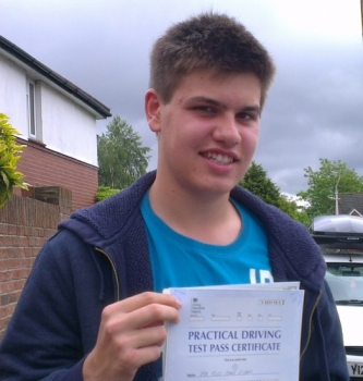 from my Introduction Lesson right through to the Driving Test his commitment to teach was flawless