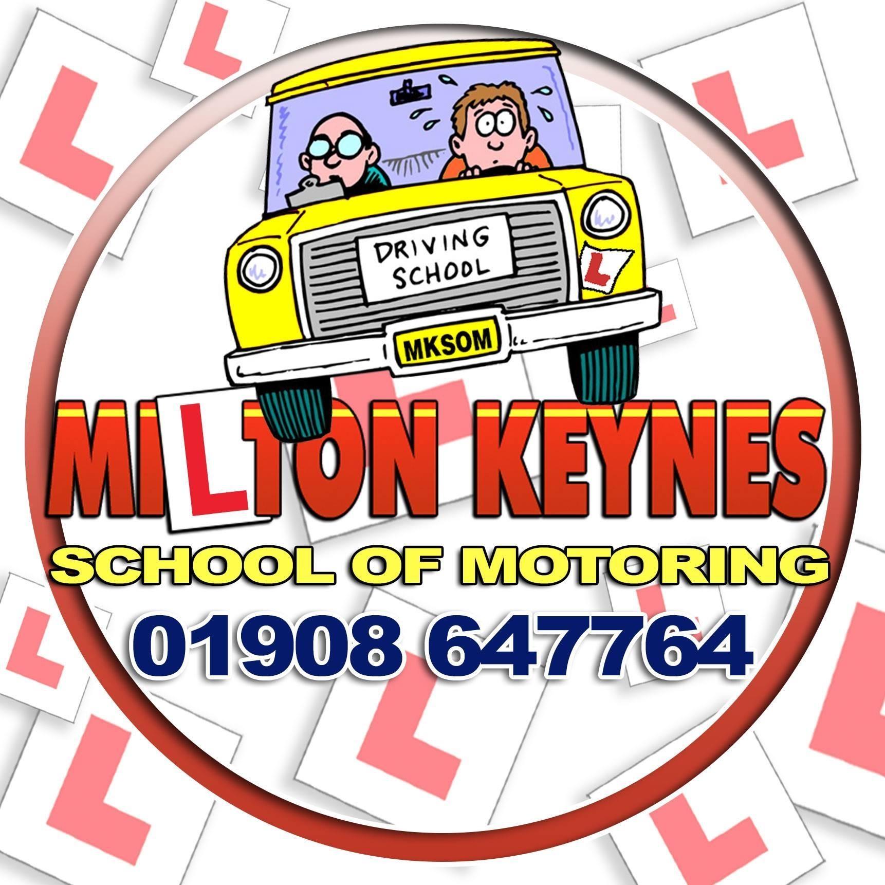 Milton Keynes School of Motoring  Logo