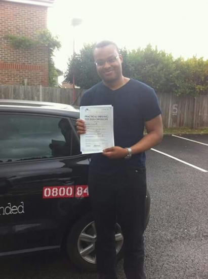 Well done passed 1st attempt