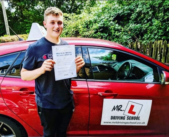Congratulations to Jack Leaman from Cheveley who passed 1st time on the 26-7-19 in Bury St Edmunds after taking driving lessons with MR.L Driving School.<br /> <br /> www.mrldrivingschool.co.uk