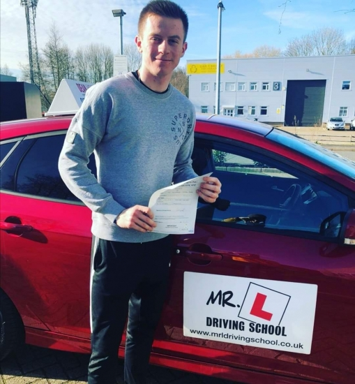 Congratulations to Alex who passed 1st time in Cambridge on the 11-3-20 after taking driving lessons with #mrldrivingschool