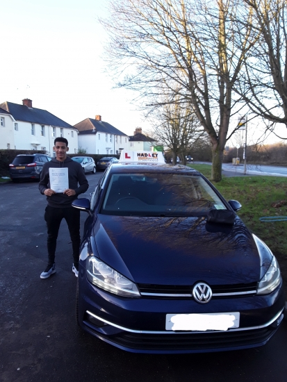 Massive thanks to Paul, his instruction on how to drive made me learn quite easily. His sense of humour helped me stay calm, concentrated and confident throughout every lesson.Highly recommend to learn with Paul