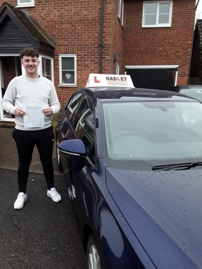 19/02/2018 - Managed to pass with only 6 minor driving faults, extremely enjoyed learning to drive with Paul, brilliant lessons! Will be recommending to friends & family
